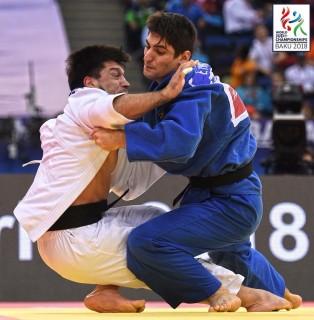 Eduard Trippel wird Fünfter bei der Weltmeisterschaft in Baku