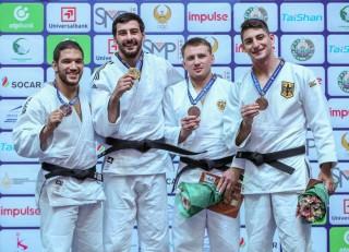 Eduard Trippel gewinnt Bronze beim Grand Prix in Usbekistan