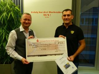 JCR Team erhält Anerkennungspreis der gewobau Rüsselsheim