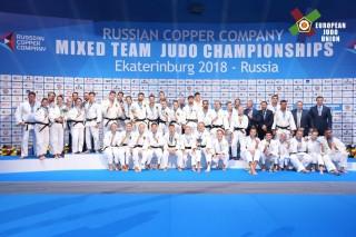 Eduard Trippel mit Mixed-Team Europameister